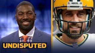 Greg Jennings argues Aaron Rodgers over Tom Brady as the best QB | NFL | UNDISPUTED