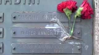 TOMBA DI WALTER CHIARI AL MONUMENTALE DI MILANO - 3.3.2012