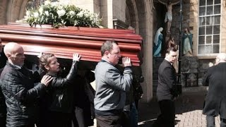 Sister Clare's funeral footage| mournful moments