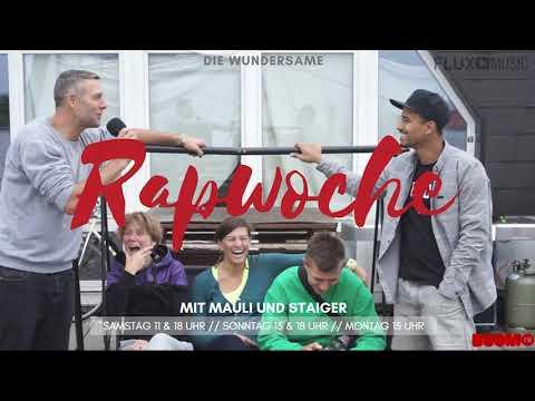 09.09. Die wundersame Rapwoche mit Mauli und Staiger   Zu Gast: Die Urbane