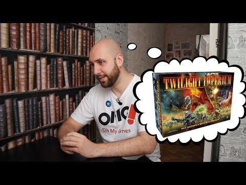 Илья из OMGames встретил другую Twilight Imperium