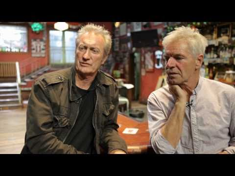 ZEBRA! Interview with Bryan Brown and Colin Friels