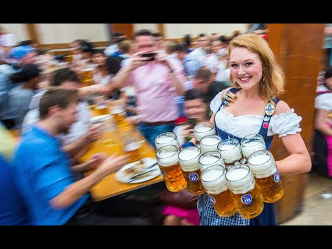 Oktoberfest MUNICH BIGGEST BOOBS&BEER*In Heaven There Is No Beer*Frank Yankovic