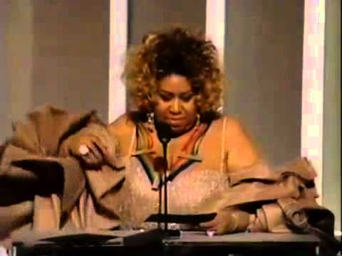 Aretha Franklin - Speech - Kennedy Center Honors Smokey Robinson - 2006