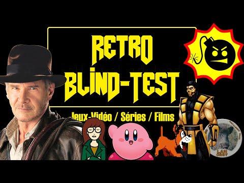RÉTRO BLIND TEST - Jeux-Vidéo / Séries / Films