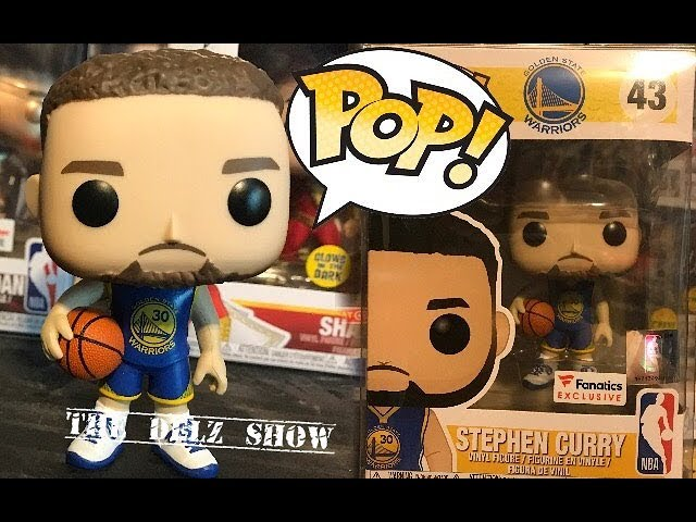 Steph Curry Golden State Warriors Funko Pop Fanatics Exclusive Detailed Look Nba Youtube
