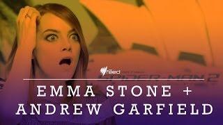 Emma Stone and Andrew Garfield talk Spider-man 2