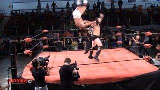 Wes Brisco vs Rene Dupree vs HANNIBAL - Canadian Title Match!