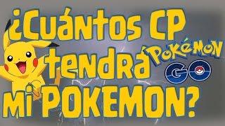 Cuántos CP tendrá mi pokemon al evolucionar Pokemon GO