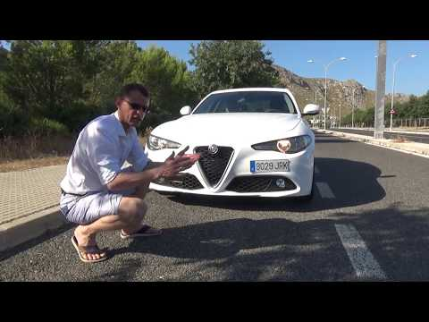 Альфа Ромео Джулия (Alfa Romeo Giulia): Тест драйв в Испании