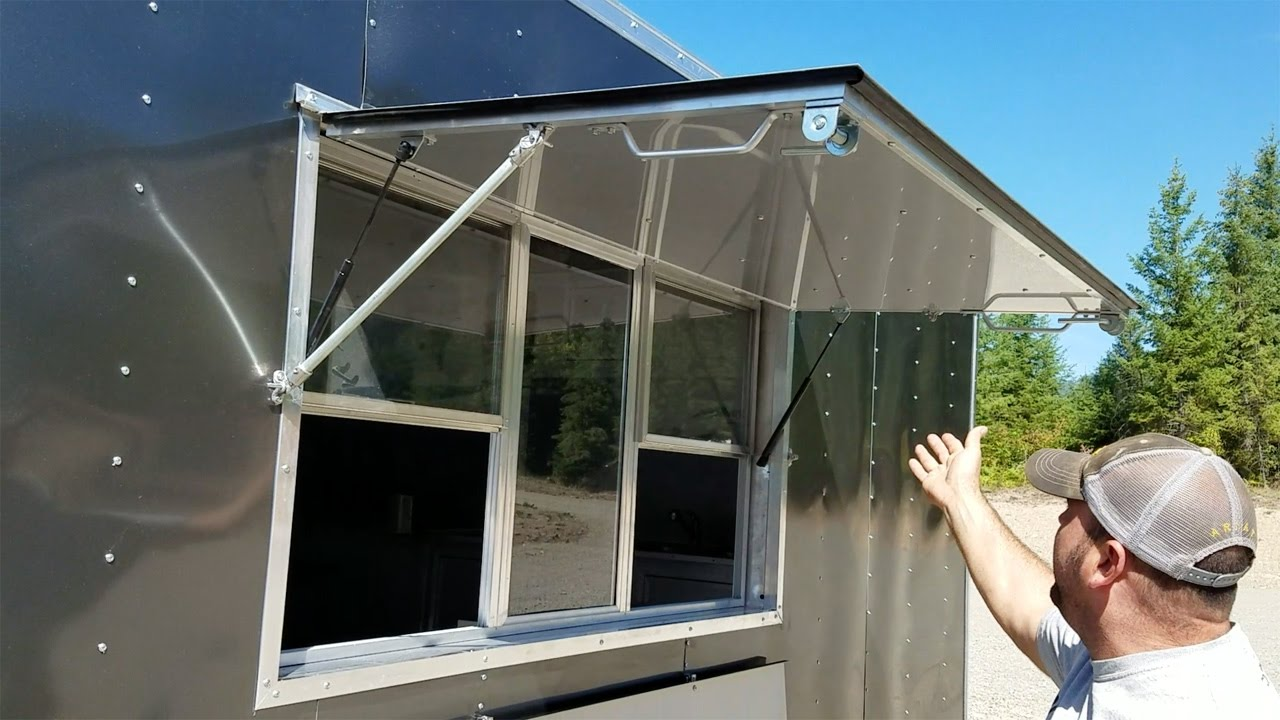 Food Trailer Concession Window Montana Trailer Mfg