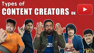 Types of Content Creators on YouTube | The Comedy Factory