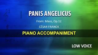Panis angelicus / Franck: Karaoke + Score guide / Low Voice
