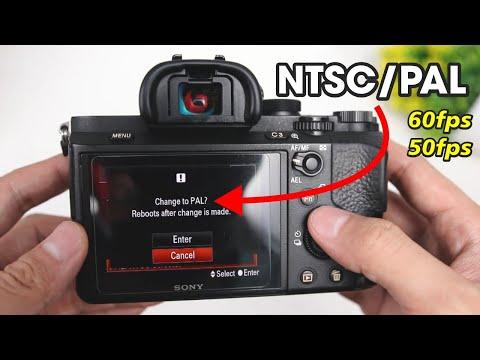Cara Setting PAL NTSC Kamera Mirrorless Sony A7II - Supaya Bisa 60FPS