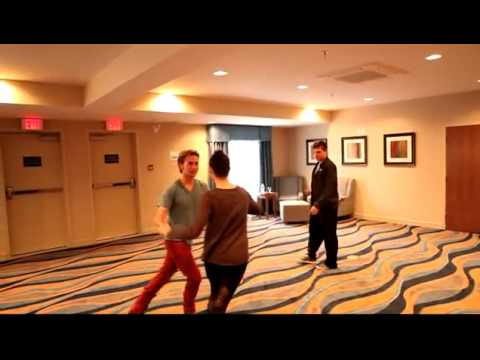 Paul Becker Choreographing Jackson Rathbone & Ashley Greene   YouTube