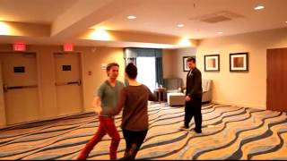Paul Becker Choreographing Jackson Rathbone & Ashley Greene   YouTube
