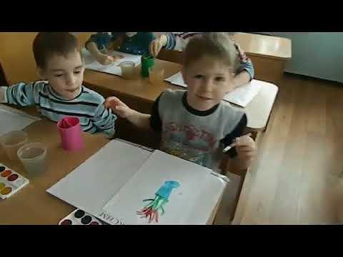 Тюльпаны занятие рисование в средней группе