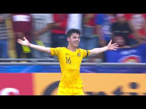 Indonesia 2-3 Australia  (AFC U16 Malaysia 2018 : Quarter-finals)