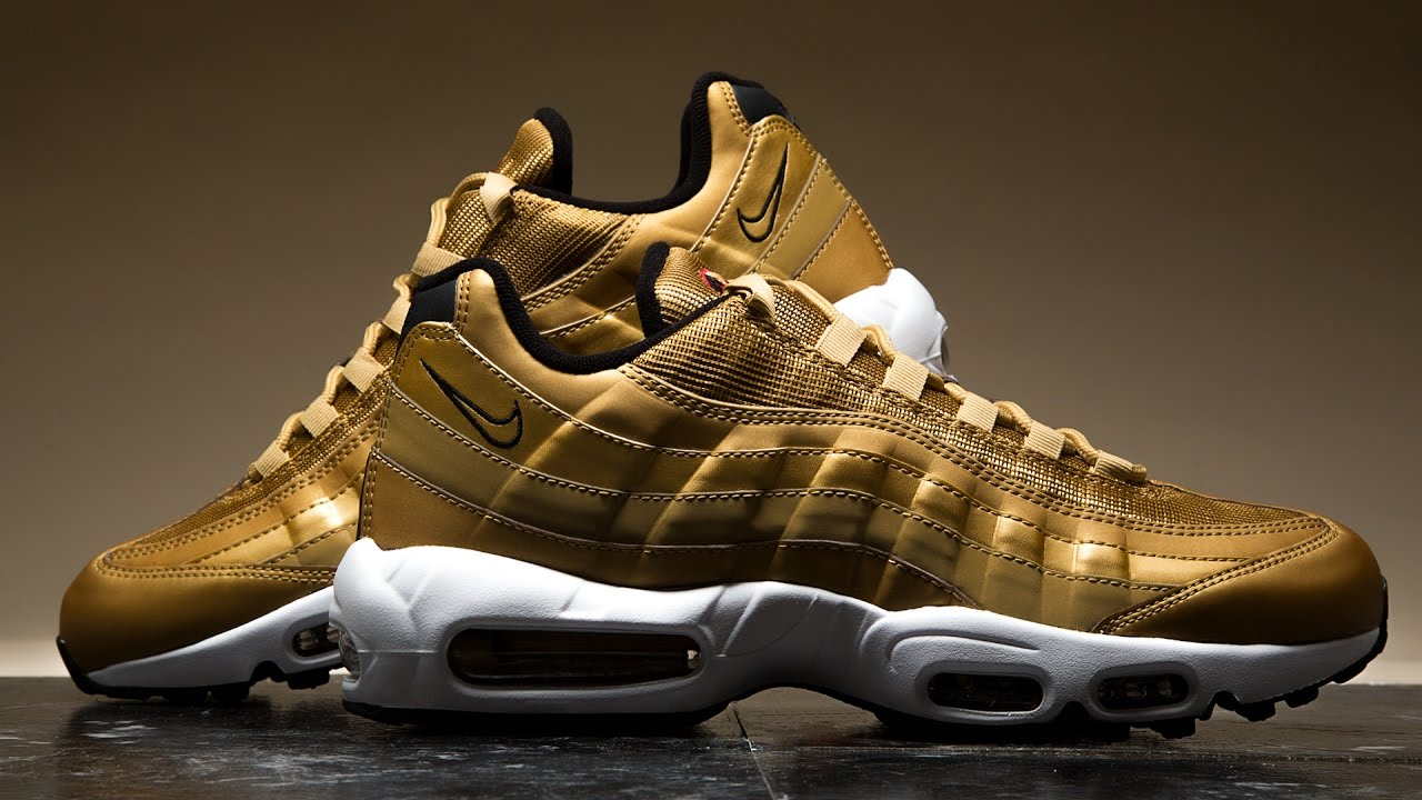 best service 3c214 32e7f MUST HAVE  Nike Air Max 95  Metallic Gold    SHIEKH