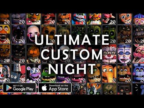 Ultimate Custom Night store video