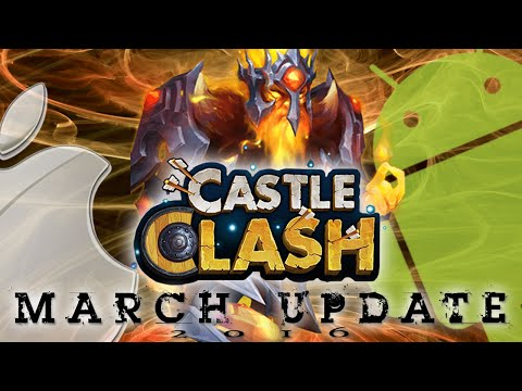 Castle Clash AoL: 2016 March Update Phantom King & Totems | Finally At The Same Time!!!