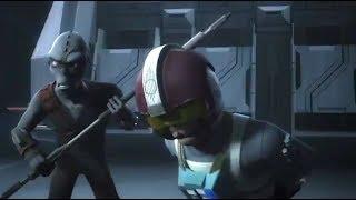 [Rukh hunts the crashed Pilots] Star Wars Rebels Season 4 Episode 9 [HD]