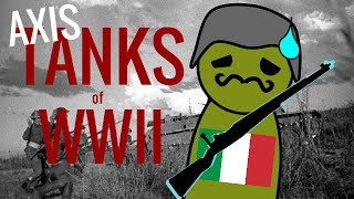 TANKS of World War II (Italy and Japan)