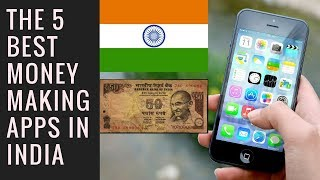 """Top 5 mobile apps to earn money online in india! the list of that give india : 1) moocash - start with promo code """"gjerpl"""" get 2$ 2)..."""