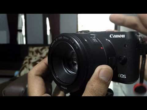 EOS M6 with Canon EF 50mm f1 8 STM AF Speed Photo Video Test