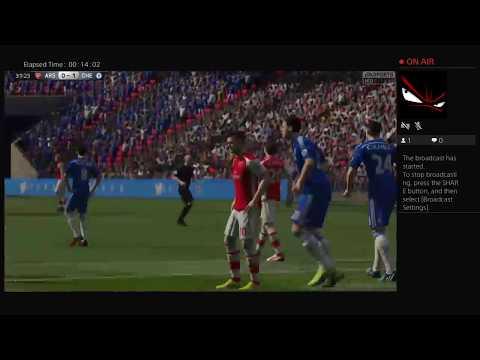 Chelsea Vs Arsenal        Ps4 Broadcast (FIFA 15)