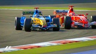 Alonso and Schumacher's Epic Battle | 2006 Bahrain Grand Prix