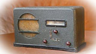 ламповый радиоприемник рпк 12 ссср 1941 г