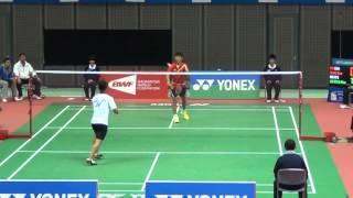 Xue SONG(CHN) VS Hsu JUI TING(TPE)