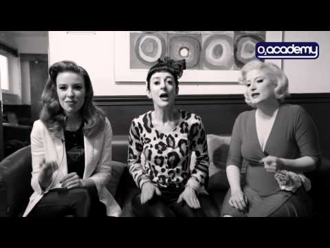 The Puppini Sisters: 'Hollywood' Acoustic Session