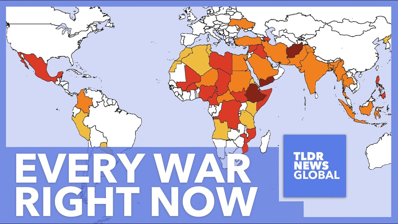 Download Every Ongoing War Explained: All 56 Global Conflicts and 113,523 Annual Deaths Explained - TLDR News