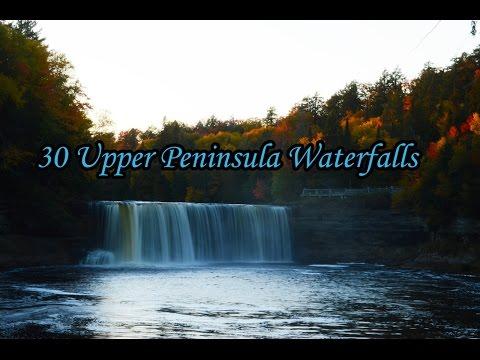 30 Awesome Upper Peninsula Waterfalls