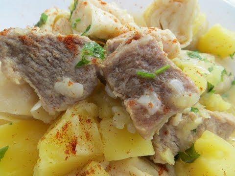 Штрудли с картошкой и мясом