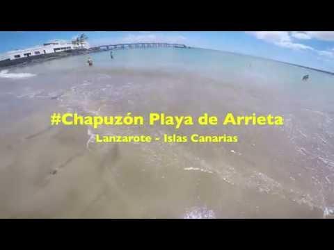 Chapuzón Playa de La Garita