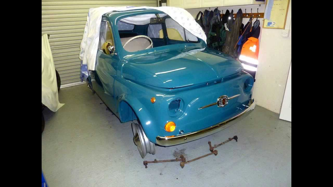 fiat 500 classic iom restoration part 3 youtube rh youtube com Fiat 500 Convertible Fiat 500L