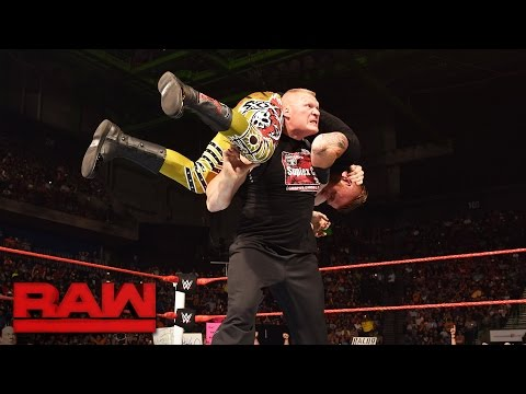 Brock Lesnar takes Heath Slater to Suplex City: Raw, Aug. 15, 2016