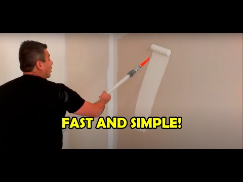 How To Paint Room In Minutes