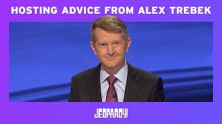 Ken Jennings On Hosting Advice From Alex Trebek | JEOPARDY!