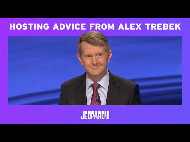 Ken Jennings On Hosting Advice From Alex Trebek   JEOPARDY!