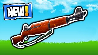FORTNITE NEW INFANTRY RIFLE WEAPON! NEW INFANTRY RIFLE! FORTNITE NEW V7.40 PATCH UPDATE