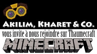 Serveur Thaumecraft - Jouons ensemble