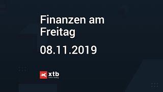 Finanzen am Freitag   08.11.2019   XTB
