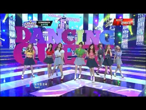 [HD] SNSD - Dancing Queen Comeback Stage