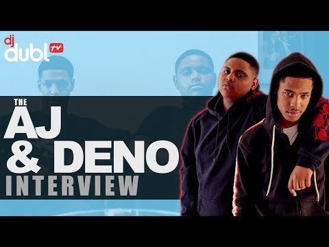 AJ x Deno Interview - Writing for Stormzy, hitting 1M views & new single 'London'!