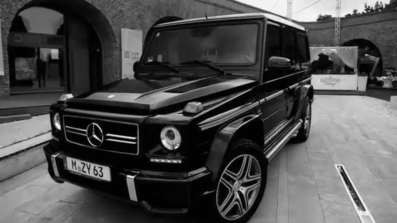 matte black mercedes g wagon
