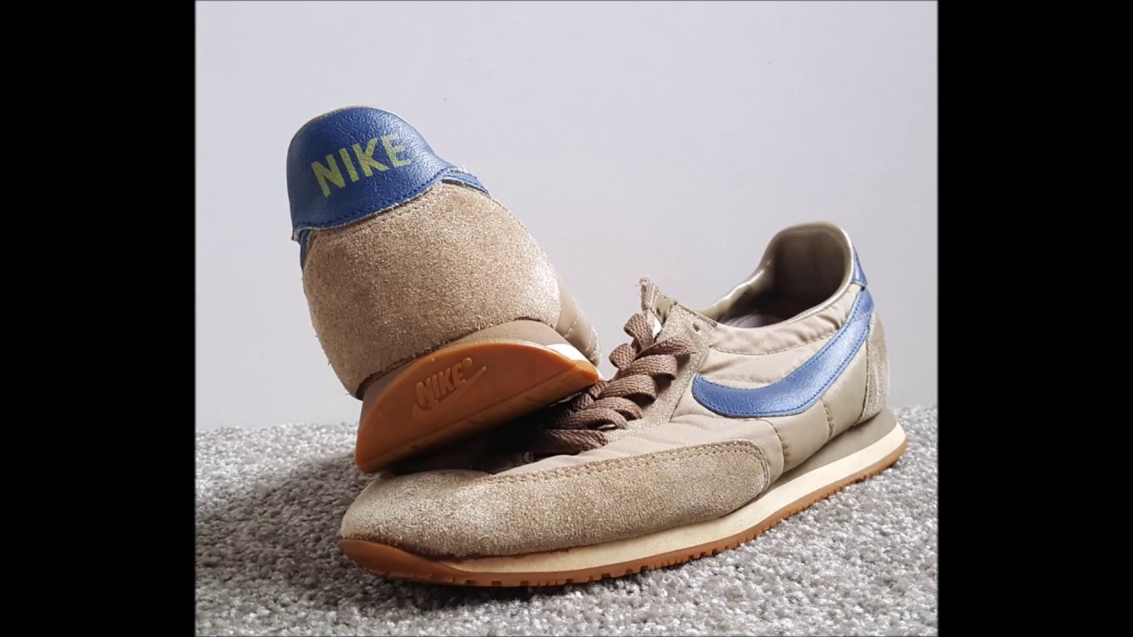 new product 860fa cd2a8 Unboxing unpacking Vintage Nike Oceania Brown Navy 1983
